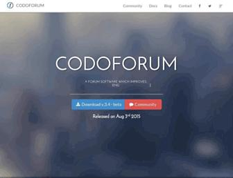 codoforum.com screenshot