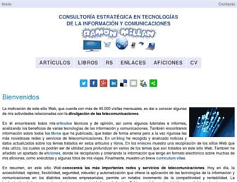 ramonmillan.com screenshot