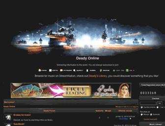 deady.dk-one.com screenshot