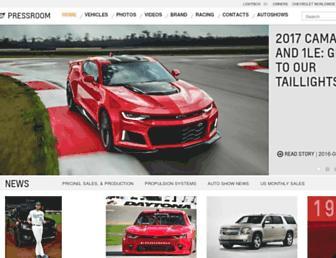 media.chevrolet.com screenshot