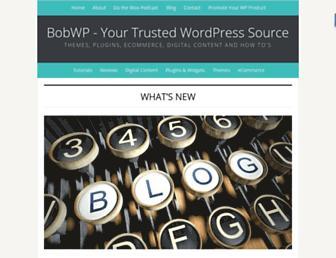bobwp.com screenshot