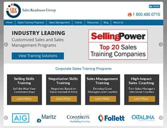 salesreadinessgroup.com screenshot