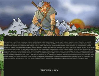 free-travian-hack.blogspot.com screenshot