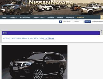 nissan-navara.net screenshot