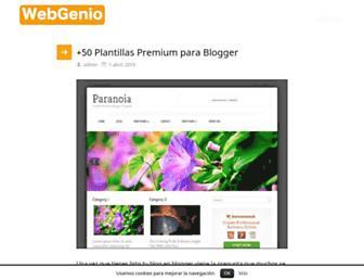 webgenio.com screenshot