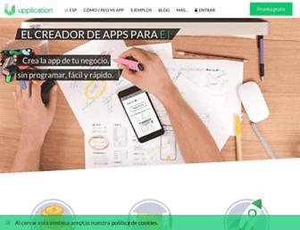 upplication.com screenshot