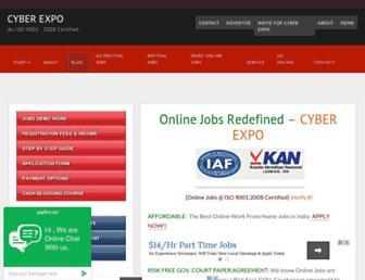 cyberexpo.in screenshot