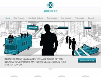 audioconexus.com screenshot