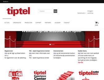 tiptel.nl screenshot