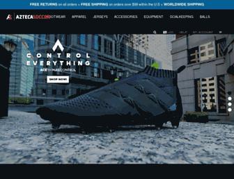 aztecasoccer.com screenshot