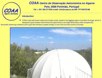 coaa.co.uk screenshot
