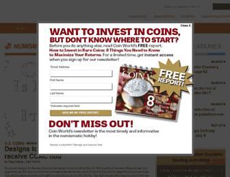 coinworld.com screenshot