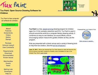 tuxpaint.org screenshot