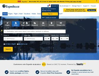 Thumbshot of Expedia.ca