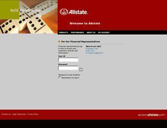 accessallstate.com screenshot
