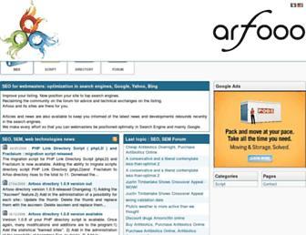 Thumbshot of Arfooo.net