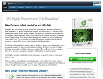 driver-performer.com screenshot