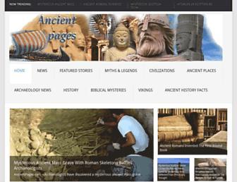 ancientpages.com screenshot