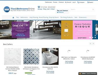 tilesandbathroomsonline.co.uk screenshot