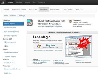 labelmagic.net screenshot