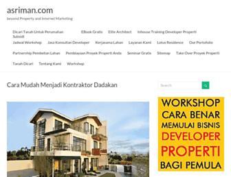 asriman.com screenshot