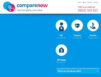 comparenow.co.nz screenshot
