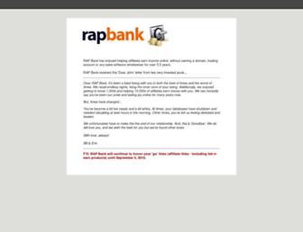 Thumbshot of Rapbank.com
