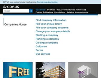 Thumbshot of Companieshouse.gov.uk
