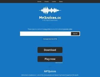 mp3juices.cc screenshot