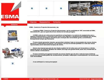 esma-lda.pt screenshot