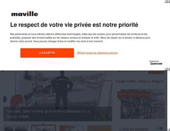 angers.maville.com screenshot
