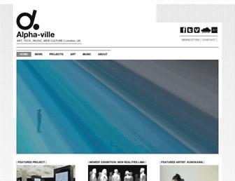 Thumbshot of Alpha-ville.co.uk