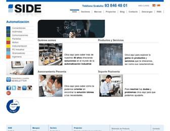side-automatizacion.com screenshot