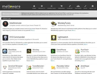 melloware.com screenshot