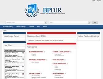 Thumbshot of Bpdir.com