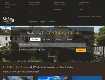 century21global.com screenshot