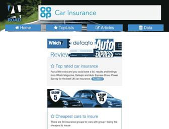 4road.co.uk screenshot