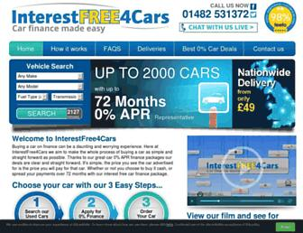 interestfree4cars.com screenshot