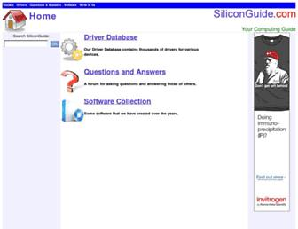 siliconguide.com screenshot
