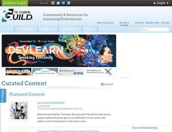 Thumbshot of Elearningguild.com