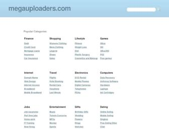 megauploaders.com screenshot