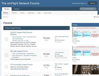 forum.simflight.com screenshot