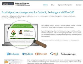 mail-signatures.com screenshot