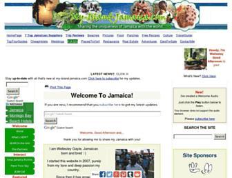 my-island-jamaica.com screenshot