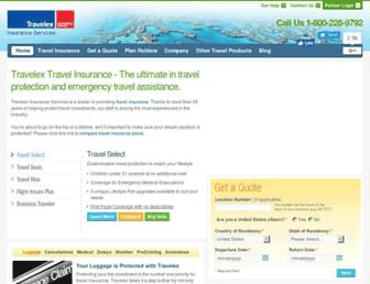 travelexinsurance.com screenshot