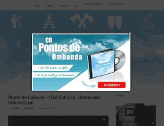 pontosdeumbanda.com.br screenshot