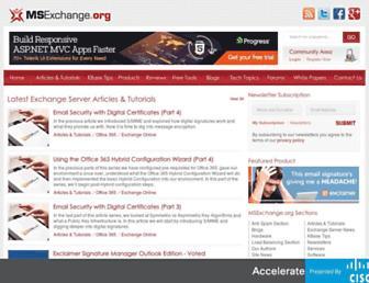 Thumbshot of Msexchange.org