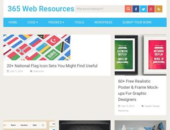 Thumbshot of 365webresources.com