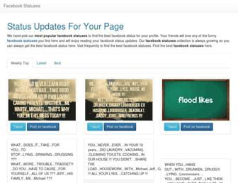 fstatuses.com screenshot