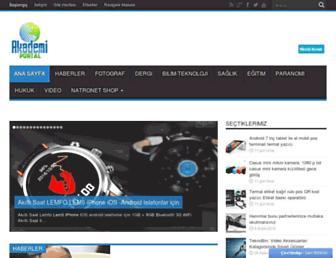 akademiportal.com screenshot